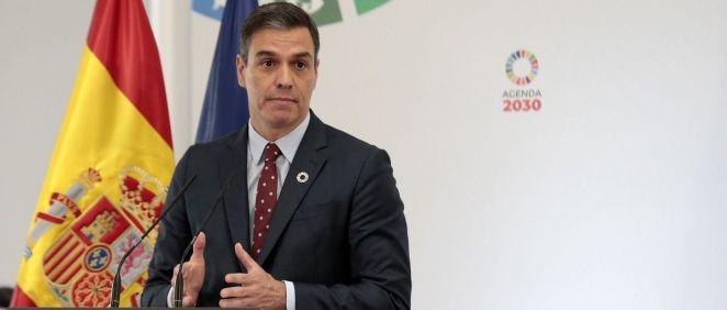 Pedro Sánchez, presidente del Gobierno (Foto: Flickr La Moncloa)