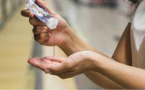 Gel desinfectante de manos (Foto. Freepik)
