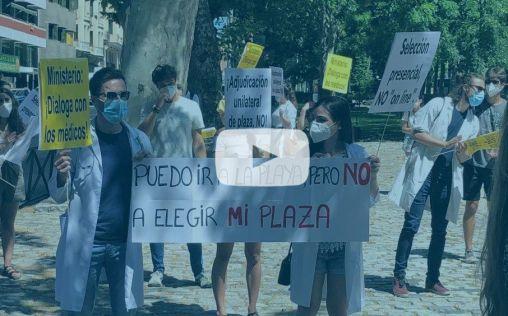 Sanidad cede ante los MIR: Así se movilizó la FSE ante la elección de plazas sólo telemática
