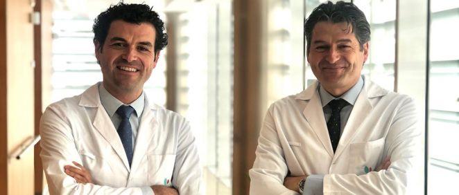Rafael García de la Borbolla y Mariano García de la Borbolla, responsables del Servicio de Cirugía Cardiovascular del Hospital Quirónsalud Infanta Luisa (Foto. Quirónsalud)
