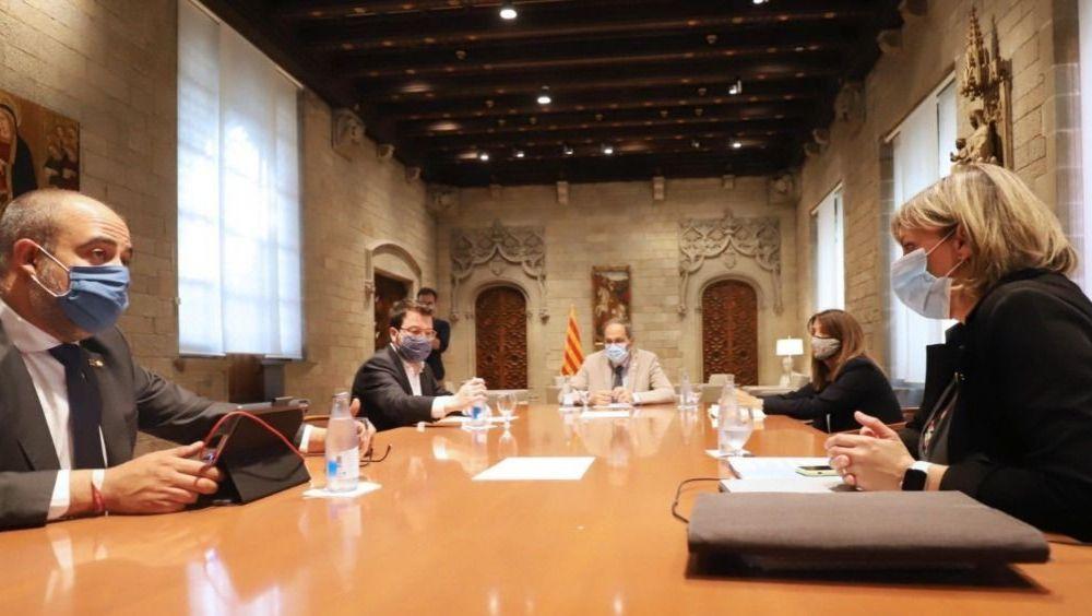 Reunión del Govern de la Generalitat de Cataluña (Foto: @salutcat)