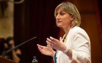 La consejera de Sanidad de Cataluña, Alba Vergés (Foto. EP)