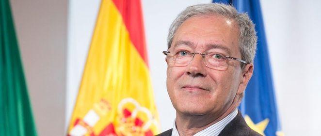 Rogelio Velasco, consejero de Economía, Conocimiento, Empresas y Universidad de la Junta de Andalucía