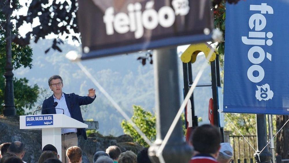 Alberto Núñez Feijóo, candidato del PP a ser reelegido como presidente de la Xunta de Galicia (Foto: PP de Galicia)