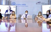Núñez preside la reunión del Grupo de Educación del PP CLM