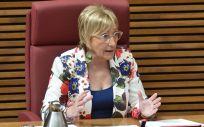 La titular de Sanidad en el Gobierno valenciano, Ana Barceló. (Foto. Flickr Corts Val)