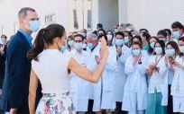 Los Reyes visitan el Instituto Murciano de Investigación Biosanitaria