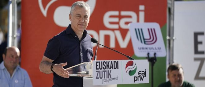 Íñigo Urkullu, Lehendakari y candidato a ser reelegido por el EAJ-PNV (Foto: PNV)