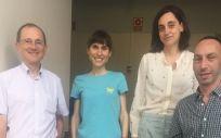 Investigadores del grupo de Jesús Castilla Catalán en el Instituto de Salud Pública de Navarra (Foto. ConSalud)