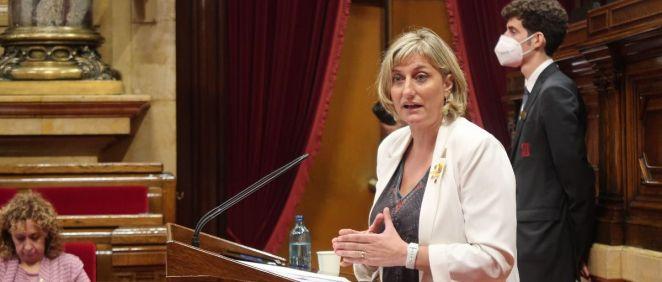 Alba Vergés, consejera de Salud de la Generalitat de Cataluña (Foto: Parlament)