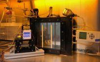 Dispositivo de nebulización utilizado por el equipo (Foto. Universidad de Columbia)