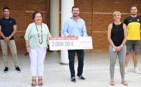 Ribera Salud renueva su compromiso con el Balonmano Playa