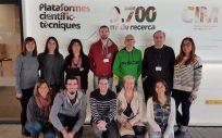 Investigadores del Ciber BBN del IIB Sant Pau, la UAB y el Instituto de Investigación Josep Carreras (Foto. ConSalud)