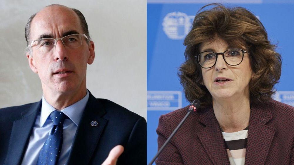 Jesús Vázquez Almuiña y Nekane Murga, consejeros sanitarios de Galicia y País Basco (Fotomontaje ConSalud)