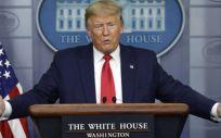 El presidente de los Estados Unidos, Donald Trump (Foto. Bloomberg)