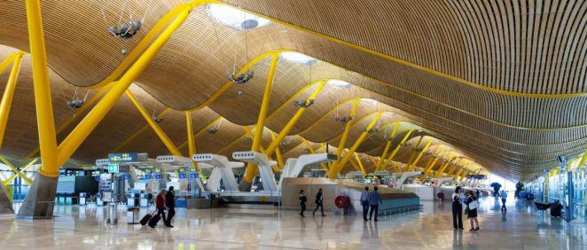 Aeropuerto Adolfo Suárez  Madrid Barajas (Foto. Comunidad de Madrid)