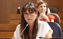 La consejera de Sanidad de Aragón, Sira Repollés (Foto. EP)