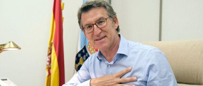 Alberto Núñez Feijóo, presidente de la Xunta de Galicia (Foto: @FeijooGalicia)