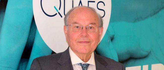 César Nombela Cano, presidente de la Fundación QUAES (Foto. Fundación QUAES)