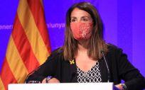 Meritxell Budó, portavoz del Gobierno de la Generalitat de Cataluña (Foto: @govern)