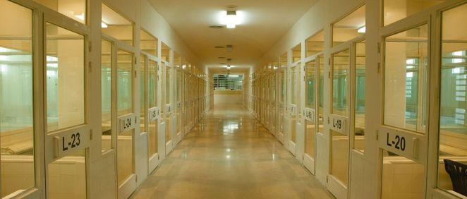 Módulos de Prisiones de un centro penitenciario español. (Foto. II.PP)