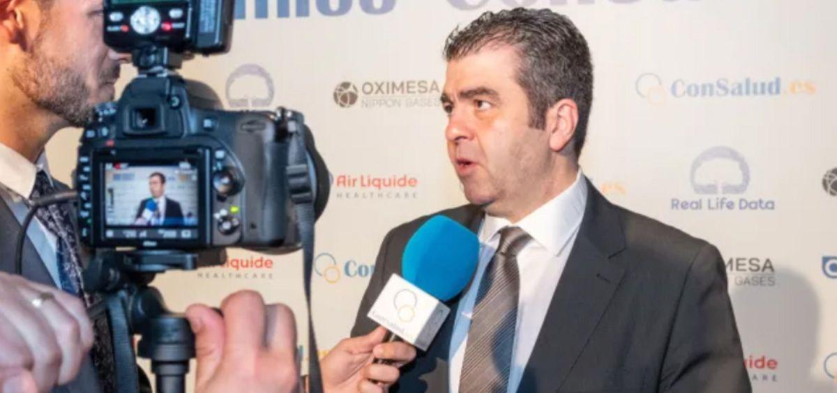 Santiago Alfonso, vicepresidente del Foro Español de Pacientes y director de Acción Psoriasis (Foto. ConSalud.es)