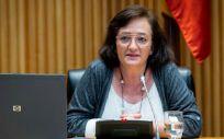La presidenta de la Autoridad Independiente de Responsabilidad Fiscal (AIReF), Cristina Herrero (Foto: Congreso)