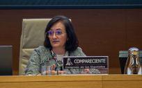 Cristina Herrero, presidenta de la Autoridad Independiente de Responsabilidad Fiscal (AIReF) (Foto: Congreso).