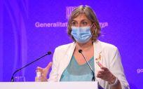 La consejera de Salud, Alba Vergés (Foto. Generalitat de Cataluña)