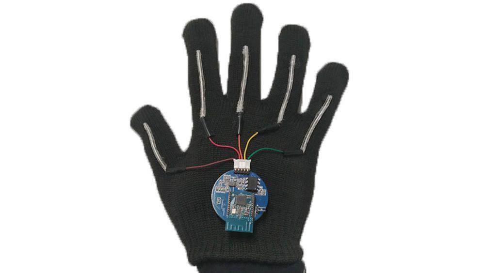 Imagen del guante creado por el equipo de ingenieros (Foto. Universidad de California en  Los Ángeles)
