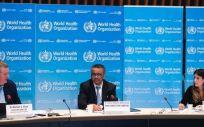 El director general de la Organización Mundial de la Salud, Tedros Adhanom Ghebreyesus, comparece en rueda de prensa para informar sobre la evolución de la pandemia de coronavirus (Foto. EP)