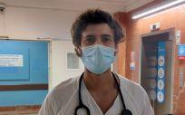 Oriol Mirallas Viñas, presidente de la Sección MIR del COMB y residente de Oncología en el Hospital Vall d'Hebron de Barcelona. (Foto. OMV)