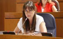 La consejera de Sanidad, Sira Repollés. (Foto. Flickr Cortes de Aragón)