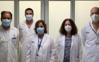 Profesionales de la Unidad de cuidados Semicríticos (Foto. ConSalud)