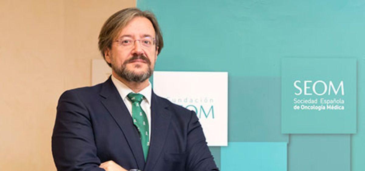 Álvaro Rodríguez-Lescure, presidente de la Sociedad Española de Oncología Médica (Foto. SEOM)