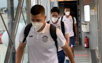 Jugadores del CF Fuenlabrada (Foto. EP)