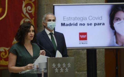 Díaz Ayuso anuncia la restricción de movilidad en 37 áreas para frenar el coronavirus