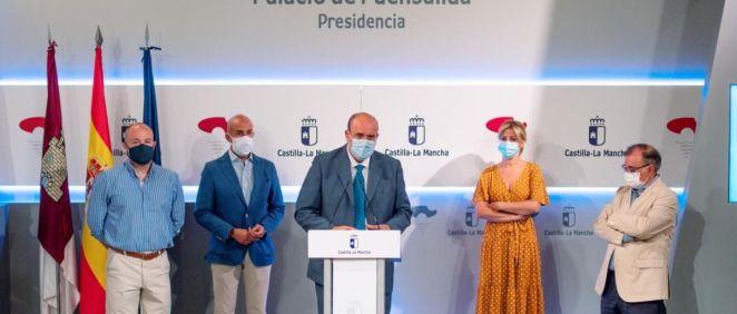 Presentación de la ley de Reserva Estratégica de Material Sanitario de Castilla La Mancha (Foto. Sescam)