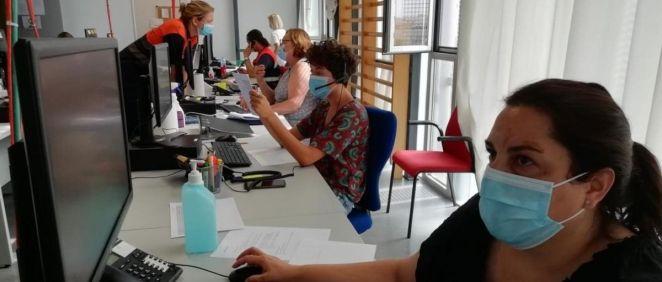 Profesionales contratados por la Consejería de Salud de Baleares (Foto. EP)