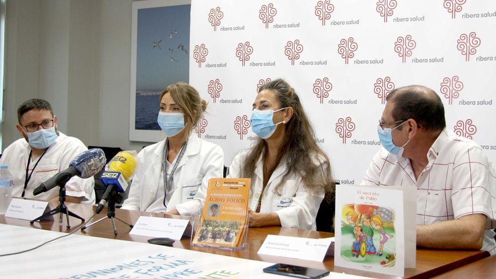 Torrevieja Salud, comprometida con la prevención de espina bífida