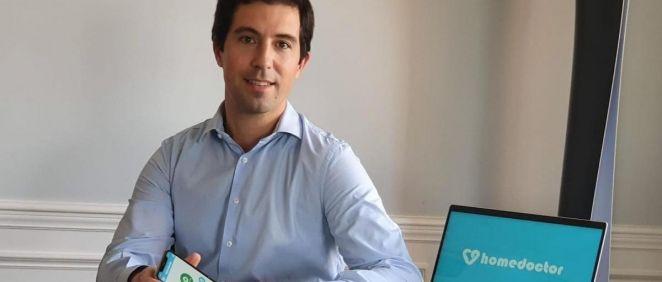 Juan Láriz, CEO de Homedoctor. (Foto. Homedoctor)