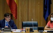 El ministro de Sanidad, Salvador Illa (Foto. Congreso de los Diputados)