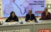 Presentación Plan Integral de Atención Primaria de CCOO. (Foto. Europa Press)