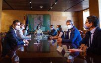 Reunión entre el Gobierno y Ciudadanos (Foto: @CiudadanosCs)