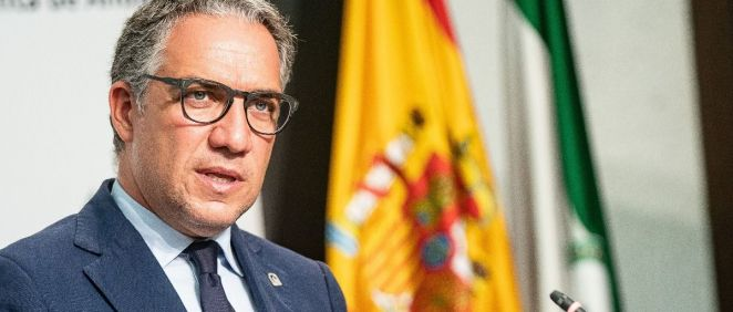 Elías Bendodo, portavoz de la Junta de Andalucía (Foto: Junta)