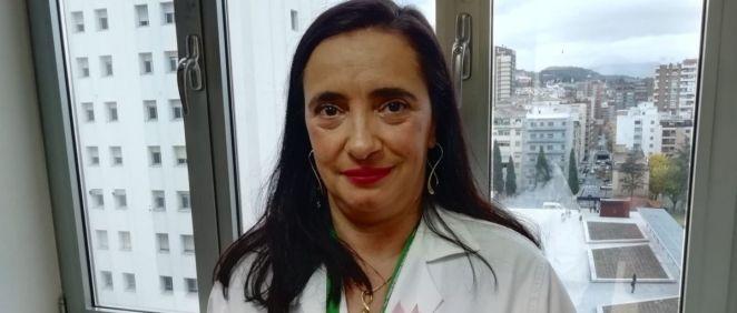 María de los Ángeles García, directora gerente del Hospital Virgen de los Nieves (Foto: Consejería de Salud)