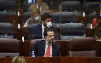 El consejero de Hacienda y Función Pública, Javier Fernández Lasquetty (Foto. Óscar Cañas EP)