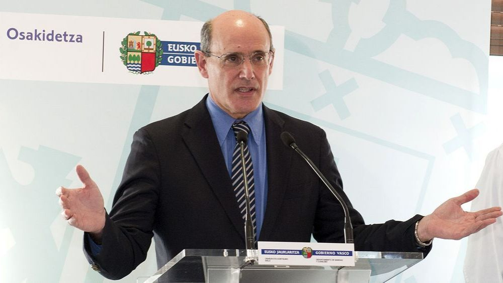 Rafael Bengoa, exconsejero de Salud del País Vasco.