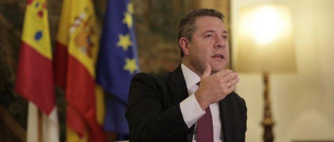 El presidente de Castilla La Mancha, Emiliano García Page (Foto. Mario Triviño EP)
