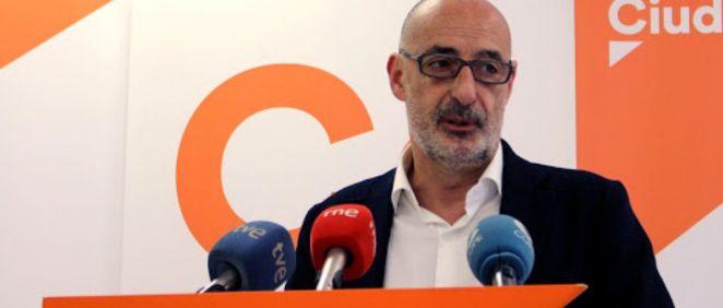 Félix Álvarez, portavoz de Ciudadanos en el Parlamento de Cantabria (Foto. Ciudadanos Cantabria)